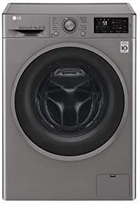 LG F4J6TM8S Independiente Carga frontal A Acero inoxidable ...