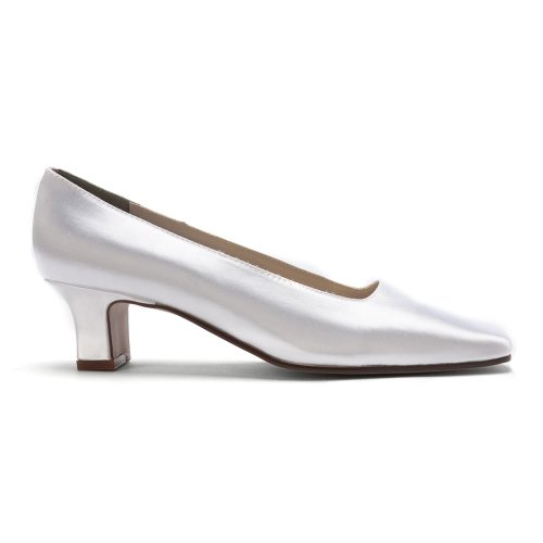 Retouches Betty Womens Pompes Blanches 7,5 M