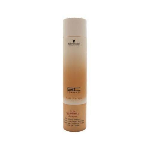 Schwarzkopf Sun Guardian Shampoo for Hair and Body, Bonacure, 8.5 Ounce