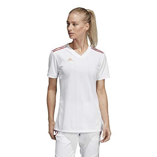 Womens Tiro Jersey Adidas - adidas Women's Alphaskin Tiro Jersey, White/Nude Pearl Essence, Medium