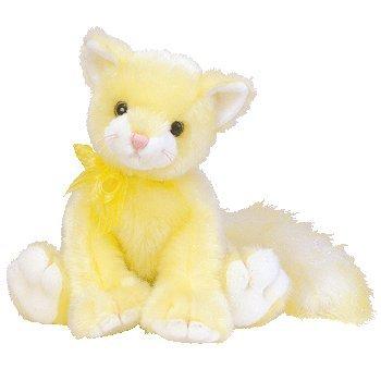 Amazon Com Ty Classic Beanie Buddy Glitz The Yellow Glitter Cat