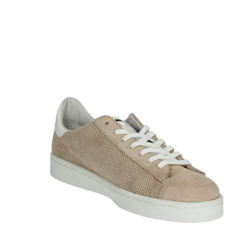 Traforato t e D Perforated a Camoscio Sneaker Beige In Twist z7AHwqA5xn