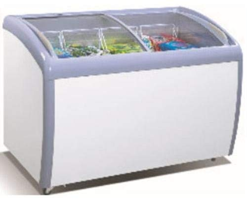 ATOSA Freezer Chest: 39-in Angle Curved Top Chest Freezer 9 CuFt