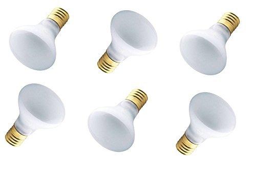40w Flood - Westinghouse 03626 - 40R14/IN/FL - 40 Watt R14 Incandescent Flood Light Bulb, Intermediate Base - 6 Pack