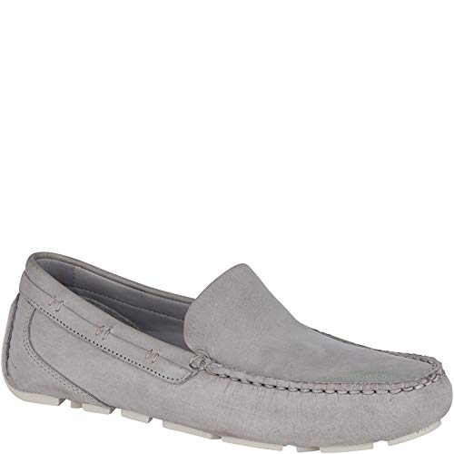 Sperry Men's Gold Cup Harpswell Nubuck Driver with ASV, Grey, 12 M US