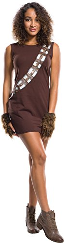 Chewbacca Girl Costumes (Rubie's Costume Co. Men's Adult Star Wars Chewbacca Rhinestone Costume Dress Set,As/Shown,Large)