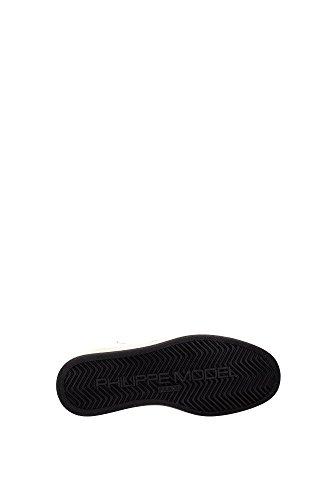 LKHDMC11 Philippe Model Sneakers Mujer Piel Blanco Blanco