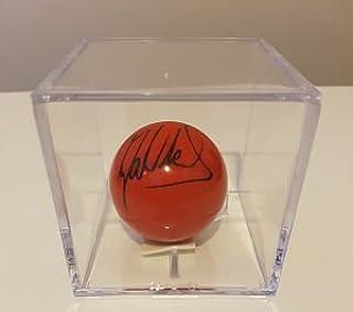 tournoi Boule de billard–Paul Collier Original à la main signé autographe Aftal COA