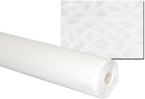 1 Rolle Damast-Tischtuch uni blau 100cm x 10 m Papier Tischdecke 1m=1,49€