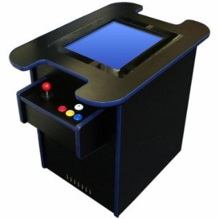Amazon.com: Cocktail Arcade Game Cabinet Ready to Assemble Cabinet ...
