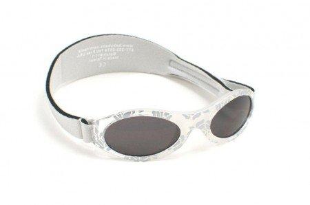BabyBanz Babysonnenbrille 100% UV-Schutz 0-2Jahre Motiv Silver Leaf Alter 0-2 Jahre