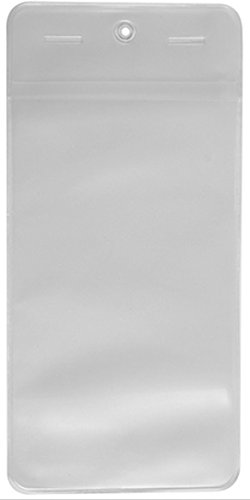 Heavy Duty Tag Cover - 6 1/2'' x 3 1/8'' (25 pcs) by Fire and Safety Plus