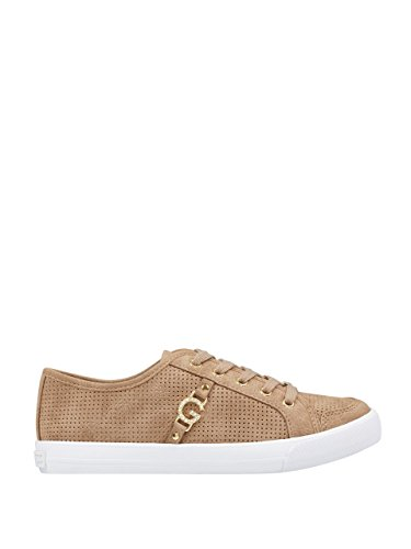Perforated by Natural Baylee Perforated GUESS Natural Womens Sneakers Womens G G Baylee by GUESS Sneakers ttB7q