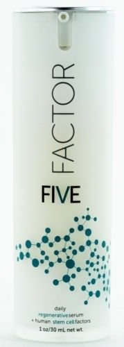 Factor Five Daily Regenerative Serum/Human Stem Cell Factors 1oz/30mL NIB - Cell Regenerative
