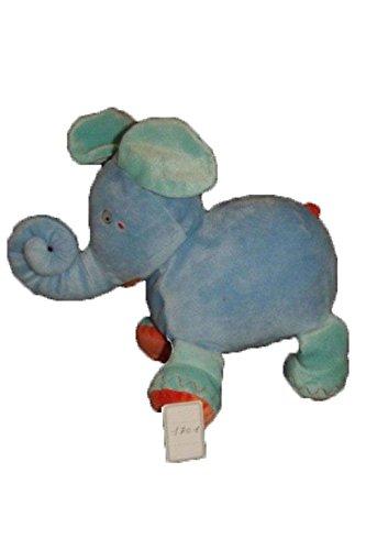 X- otros - Doudou IKEA Elephant Azul y naranja - 1701: Amazon.es: Bebé