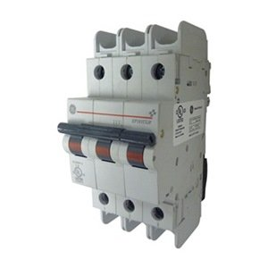 Circuit Breaker, UL489, B, 3P, 5A, 240VAC by GE