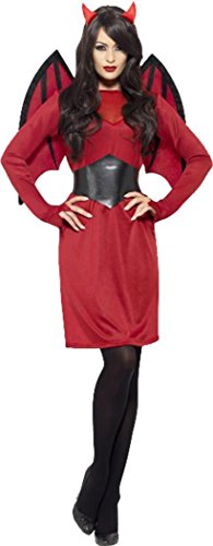 (Economy Devil Costume Red Uk Dress)