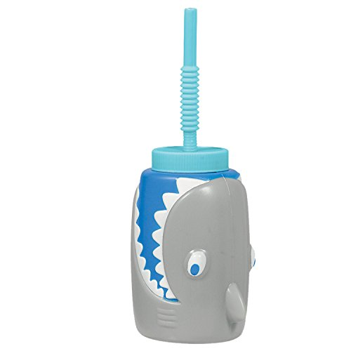 Amscan Shark Party Sippy Cup, 22 oz.