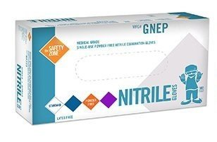 Nitrile Exam Powder-Free, Latex-Free Disposable Gloves