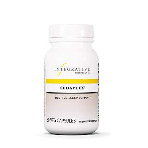 Integrative Therapeutics - Sedaplex - Restful Sleep Support - Supports Relaxation with L-Theanine - 60 Capsules