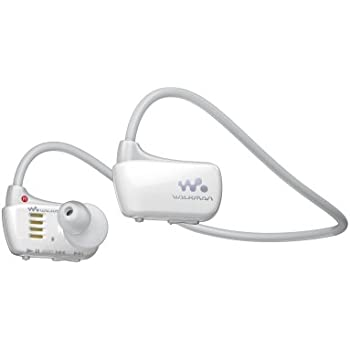 Sony Walkman NWZW273S 4 GB Waterproof Sports MP3 Player (White) with Swimming Earbuds