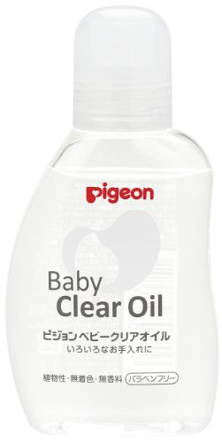 Pigeon Baby clear oil 80ml by Pigeon