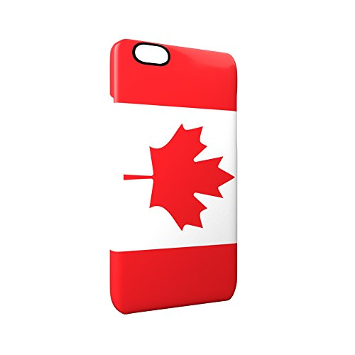 Flag of Canada Glossy Hard Snap-On Protective iPhone 6 / 6S Case Cover
