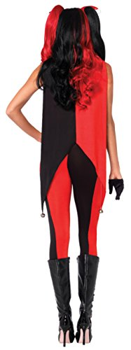 Leg Avenue Womens Sexy Evil Jingle Jester Clown