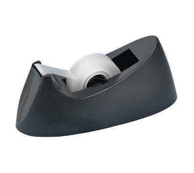 OfficeMax Weighted Desktop Tape Dispenser, Black