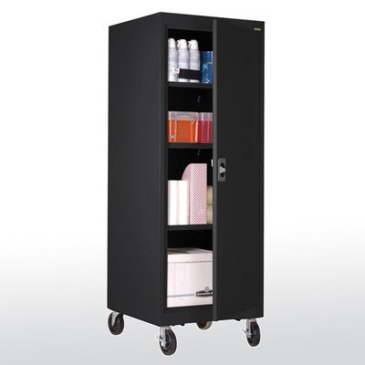 Sandusky Lee TA3R242460-09 Transport Series Mobile Storage Cabinet, - Storage Mobile Transport