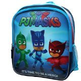 Disney Junior PJ Masks Superheros Owlette Catboy and Gekko Backpack