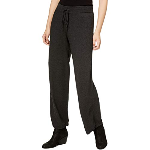 Eileen Fisher Womens Cozy Tencel Blend Wide Leg Pants