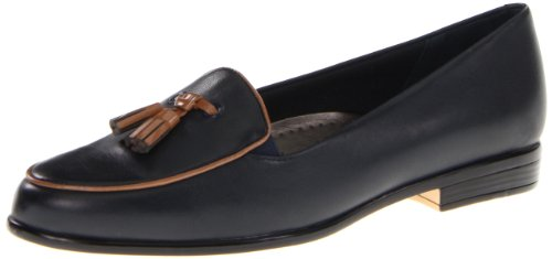 Trotters Women's Leana Loafer Navy/Tan