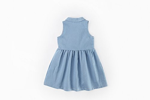 Acvip Bleu Robe Trapèze Fille Trapèze Fille Acvip Robe d0nWSnvf