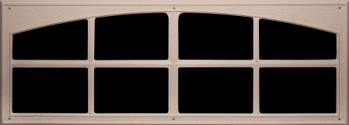 Composite Coach - Coach House Accents Simulated Garage Door Window (2 windows per kit) - Sandstone - Model AP144199