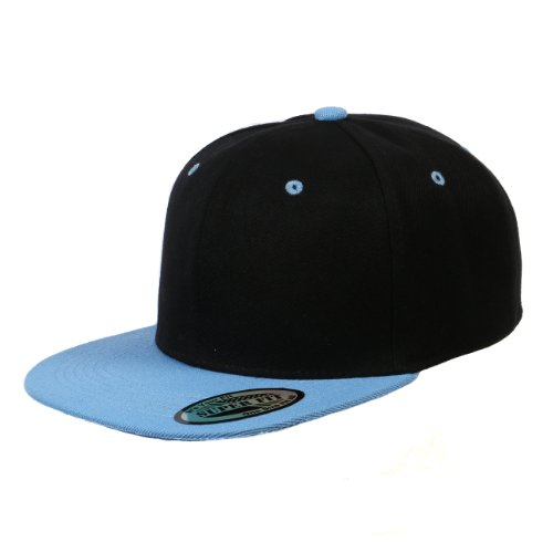 blank-adjustable-flat-bill-plain-snapback-hats-caps-all-colors