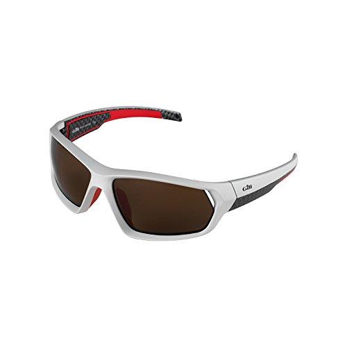 2017 Gill Race Sunglasses Silver - Optics Salt Uk