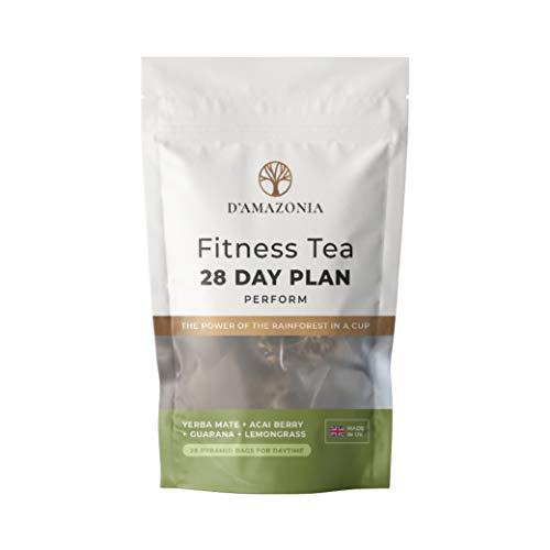 D'Amazonia Fitness Tea – Natural Energy Booster – Detox Tea – Reduce Bloating – Herbal Tea – Boost Immunity w/ 12…