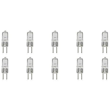 Amazon.com: 10 unidades T3 T4 G5.3 JCD Foco foco AC 240 V 50 ...