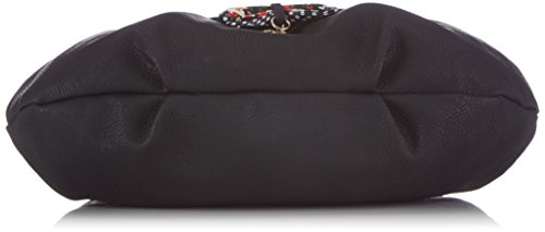 Tamaris LEA Shoulder Bag - Bolso de hombro de piel sintética mujer negro - Schwarz (black comb 098)