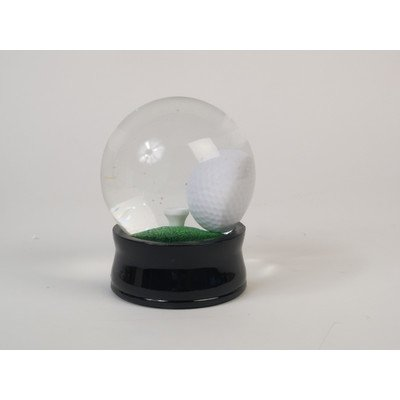 Classic Game Collection Water Globe Golf Ball (A Tee On Golf Ball)