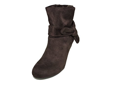 Womens Fashion boot Suede Brown 3