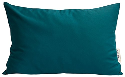 TangDepot Durable Faux Silk Solid Pillow Shams, Rectangle pillow covers, Decorative Cushion Cover Pillowcase, Throw Pillow Covers - (12
