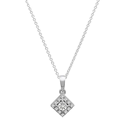 0.25 Ct Diamond Necklace - 8