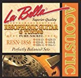 LaBella RESN-1856 Resophonic Pure Nickel - G Tuning 18-56