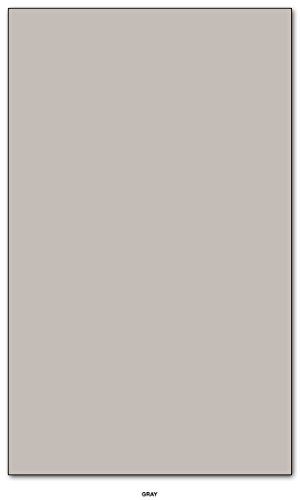 Gray Pastel Color Card Stock Paper Legal Size 8.5'' X 14'' Pack of 50 by S Superfine Printing