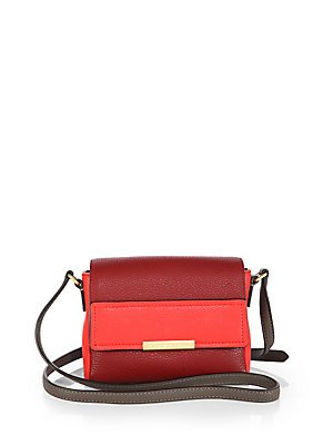 3ed91299fe92 Image Unavailable. Image not available for. Color  Marc Jacobs Cabernet Multi  Crossbody Gold Leather Bag ...