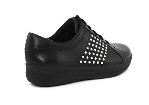 Ii Q03 Metal 001 sporty Black F Sneaker Stud™ Fitflop qw40tSn