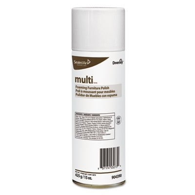 Divgt|#Diversey 904390 Multi Foam Spray Cleaner 12x15 oz, 15 Volts, (Pack of 12)