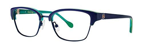 Lilly Pulitzer LEXINGTON Navy Eyeglasses - Eyewear Lexington
